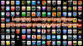 Le migliori applicazioni per iPhone utilizzate ogni giorno da alcuni designers