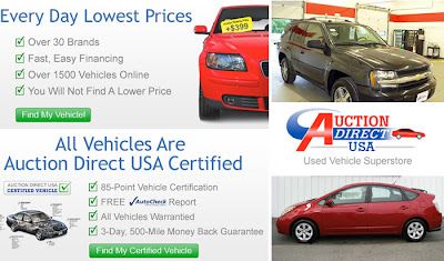 la vendita di auto usate online. Un esempio americano