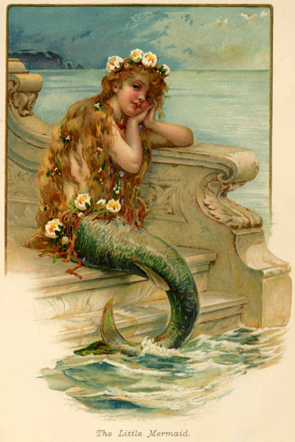 Barbara Jacksier: WATERSIDE WEDNESDAY: Mad for Mermaids