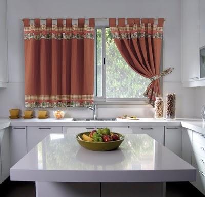 Colchas cortinas cojines juego de ba os juego de - Ver cortinas para cocina ...