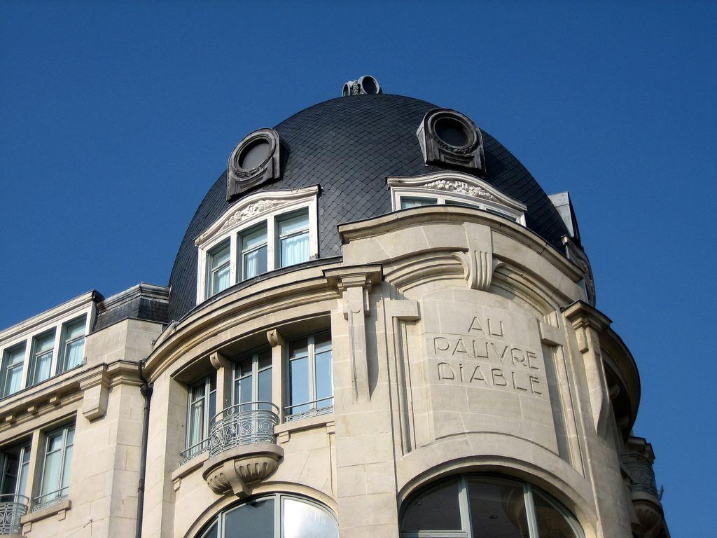 Dijon en 1900 au pauvre diable for Le miroir dijon