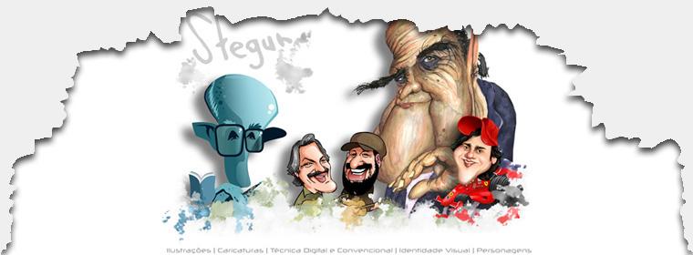 Stegun - Ilustrações e Caricaturas