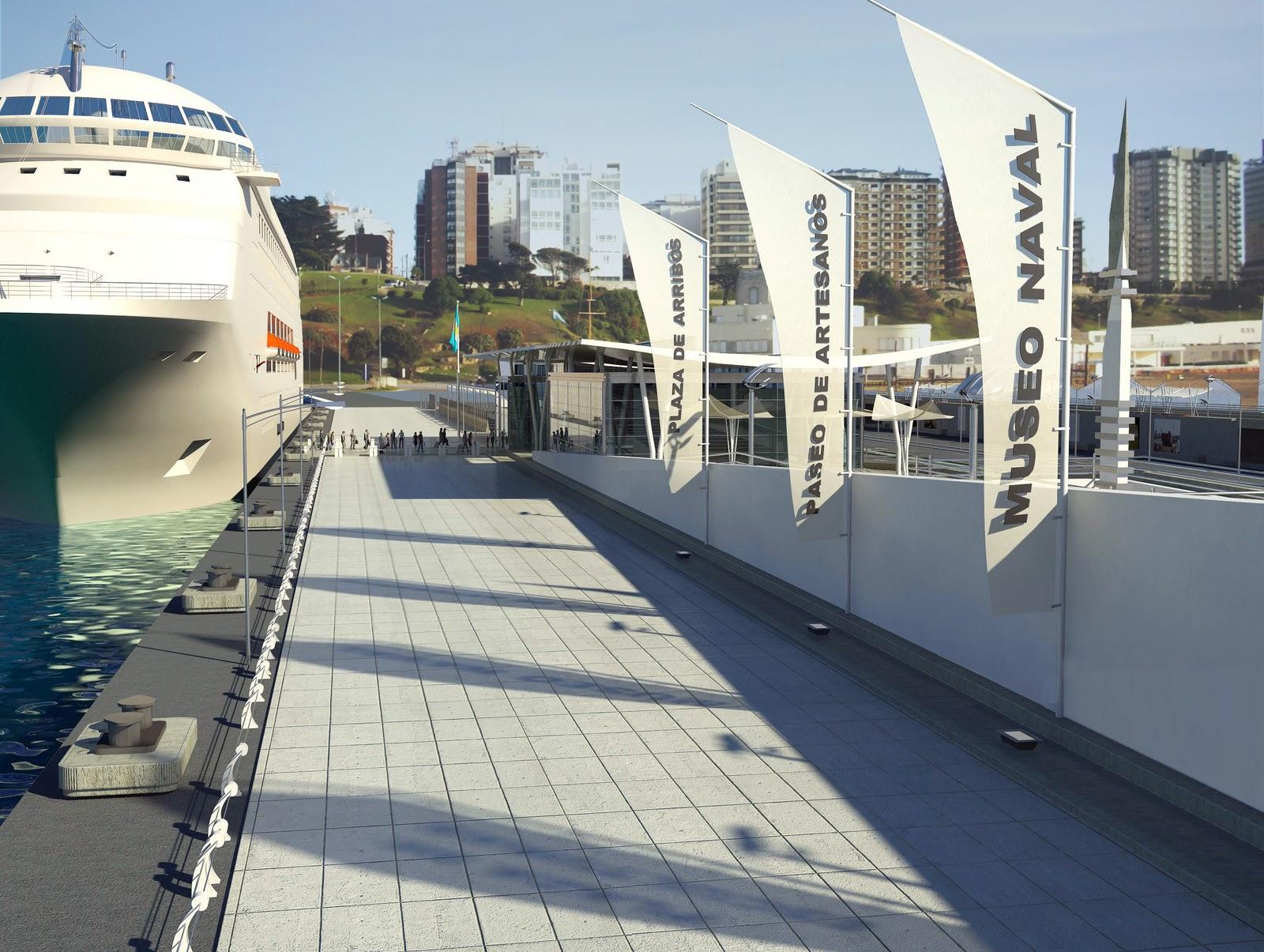 R e n f i s arquitectura digital terminal de cruceros for Estudios de arquitectura la plata