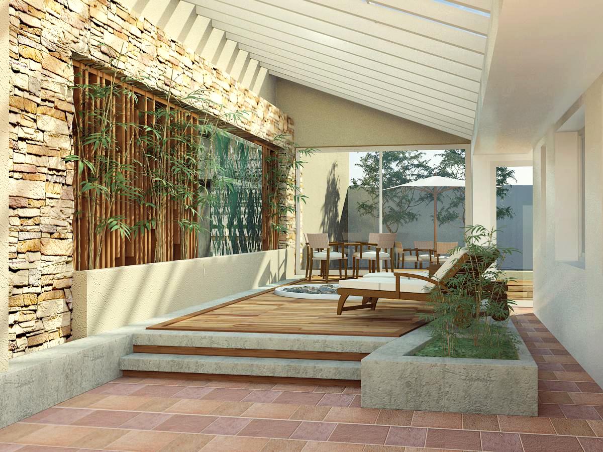 R E N F I S Arquitectura Digital Interior Solarium