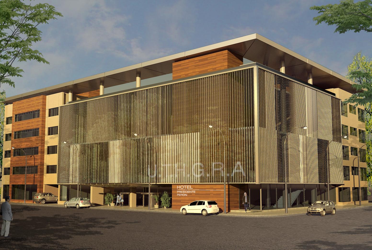 R e n f i s arquitectura digital hotel presidente per n for Estudios de arquitectura la plata