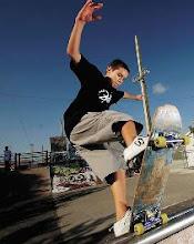 Skateboarding again...