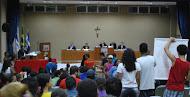 """Manifestação em defesa da """"portelinha"""", na câmara municipal de Aracruz"""