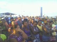 Assembléia do acampamento em Barra do riacho