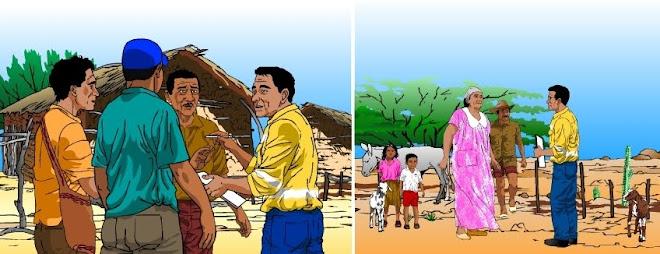 Informacion Wayuu - Ilustraciones para cartilla