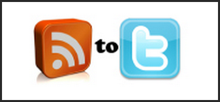 rss to twitter logo Auto update RSS to Twitter using Feedburner