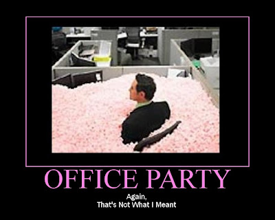 SortaMotivational Posters Office Party