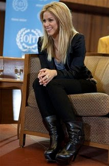 UN labor agency: Shakira honored - World Actress News