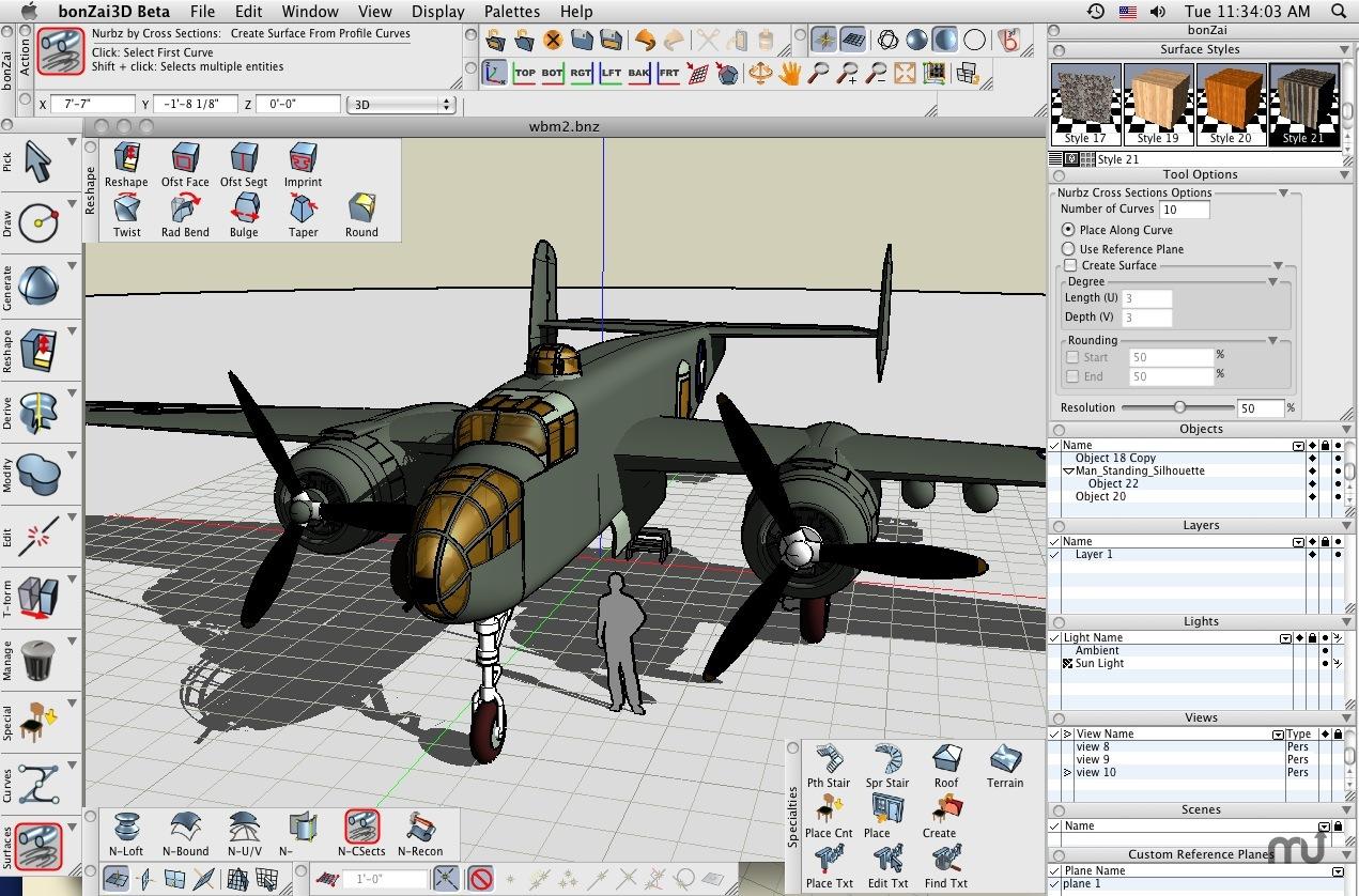 Dise o integral la competencia del sketchup for Programas de diseno 3d online