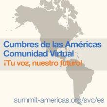 Participamos en el Foro  de las Cumbres de las Américas
