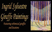 Ingrid Sylvestre Giraffe Paintings