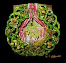 3D Whimsical Woodland Christmas Card: Woodland Xmas Tree