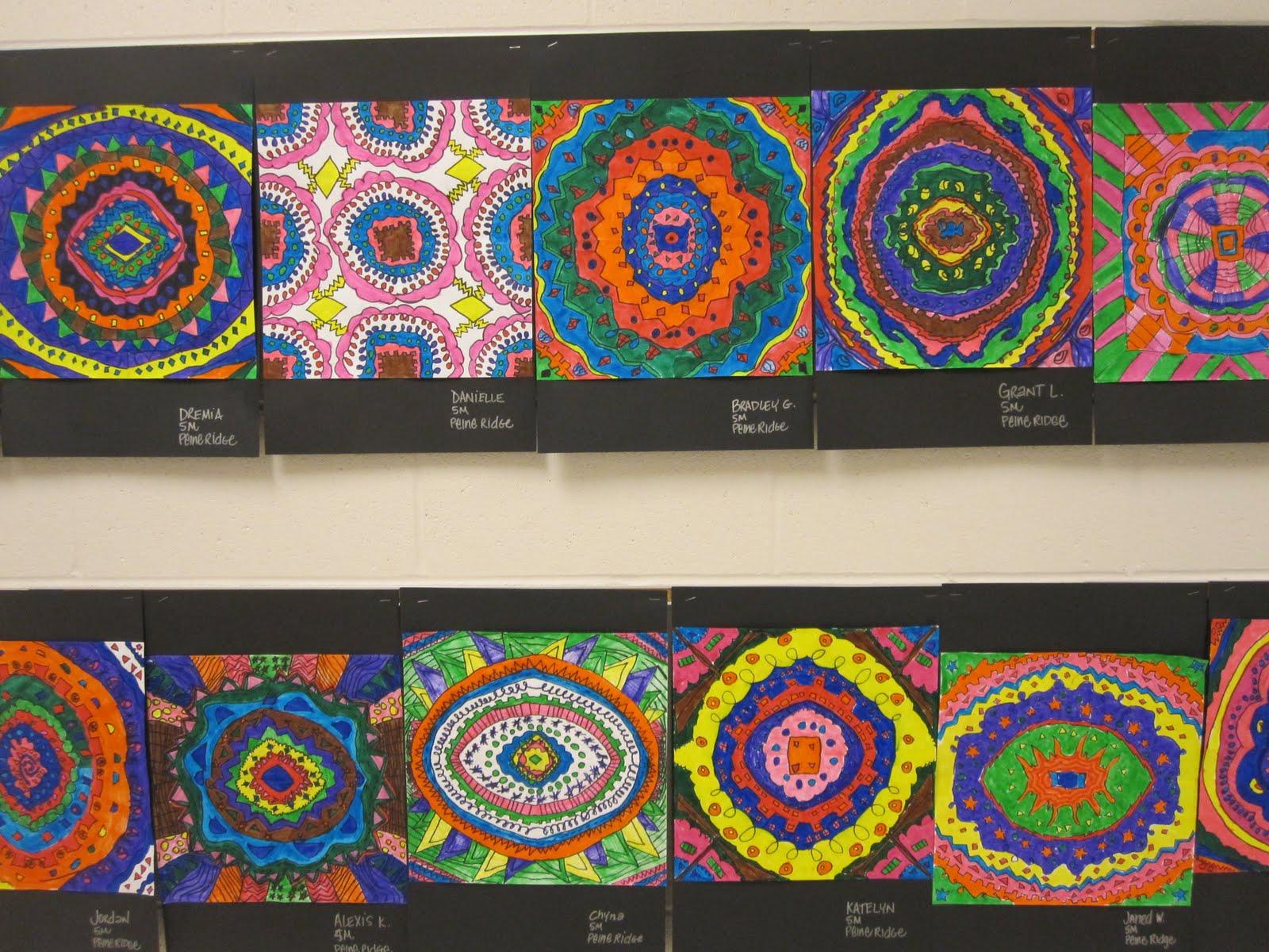 Radial Symmetry 5th Grade