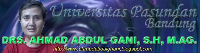 AHMAD ABDUL GANI, S.H., DRS., M.AG.
