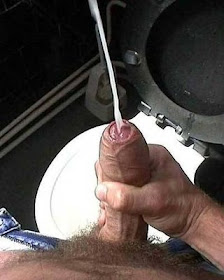 Man Creamy Spew