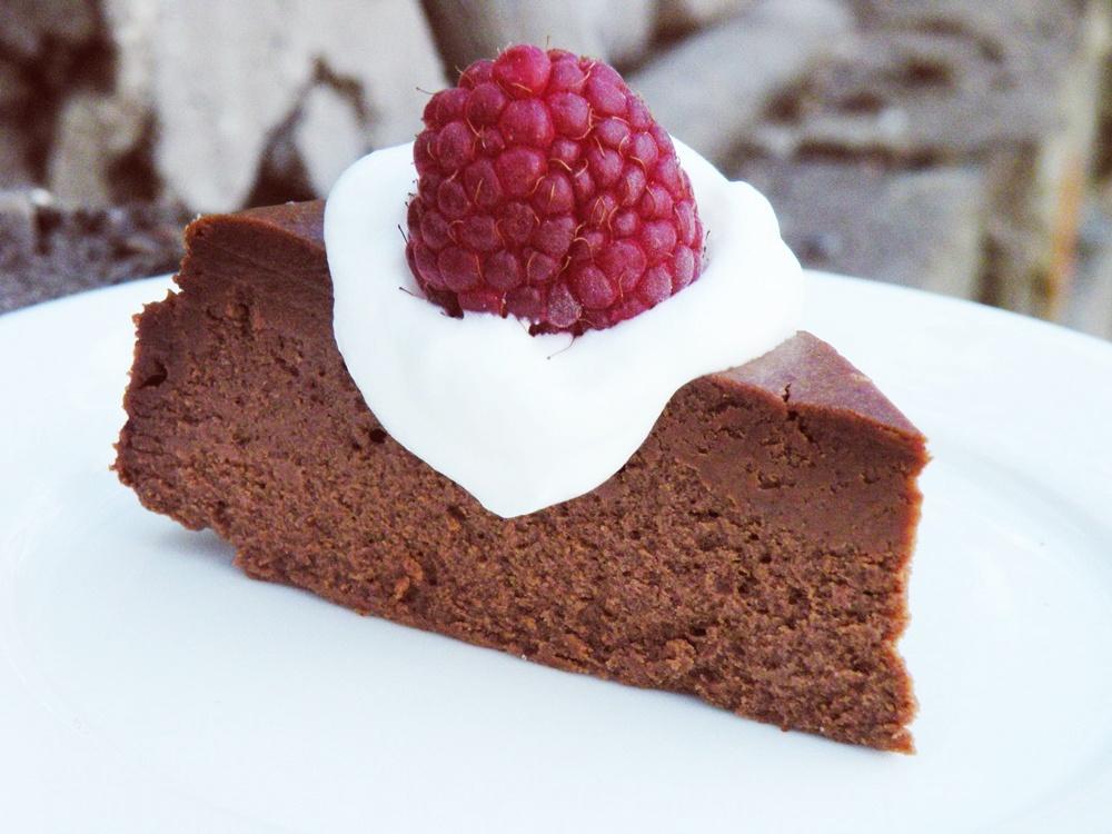 Lubię...oj lubię..Fudge Truffle Cheesecake (sernik czekoladowy