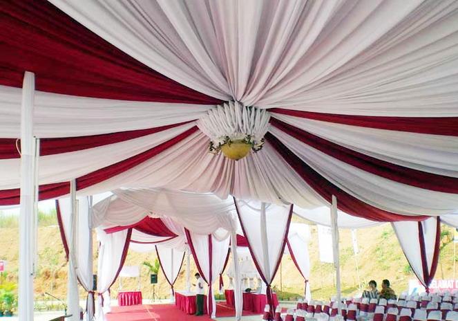 Pre tenda tenda dekor for Dekor 17 agustus di hotel