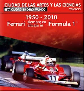 Nueva exposicion Ferrari en Valencia