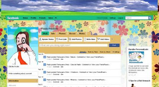 natureza, nature, facebook, skin, temas, themes, layout