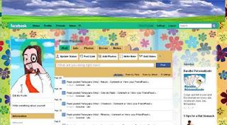 natureza, nature, facebook, skin, temas, themes, layout