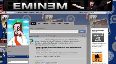 facebook layout skin template theme eminem