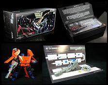 Fan Project Item: Alternator Binaltech TFX ABT01 Upgrade Set & TFC-004 Gear of War