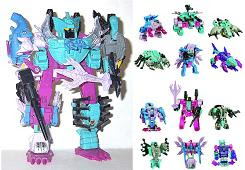 Decepticon Piranacon - G1 Commemorative Seacons