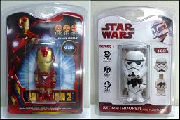 Star Wars & Iron Man USB Drive 4GB