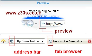 favicon preview