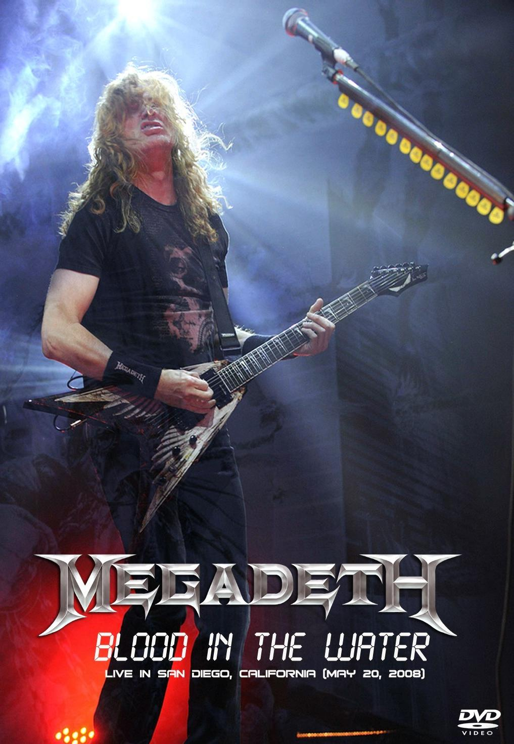 Megadeth – Blood in the Water Live in San Diego [Full] [Concierto Completo] [1 Link] [MEGA]