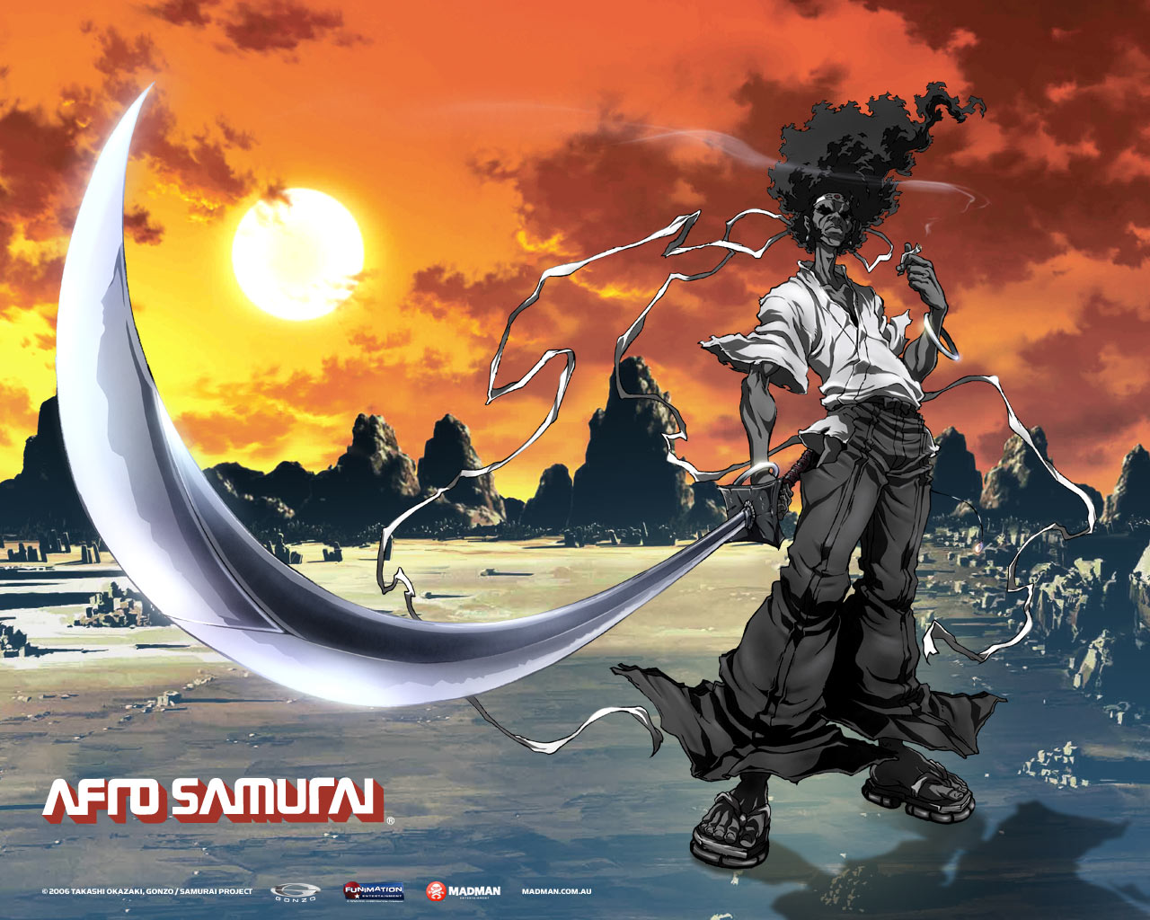 Afro Samurai Wallpapers. Game Wallpapers, PC Games Walkthrough