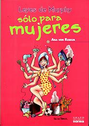 """"""" Leyes de Murphy sólo para Mujeres"""" , de Ana von Rebeur , versión argentina"""