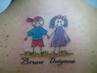Bonequinhos De Tattoos