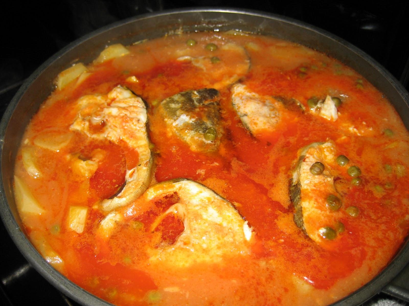 Cocinando para mis peques bacalao guisado al horno - Bacalao guisado con patatas ...