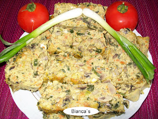 Articole culinare : Drob de legume- Chec aperitiv