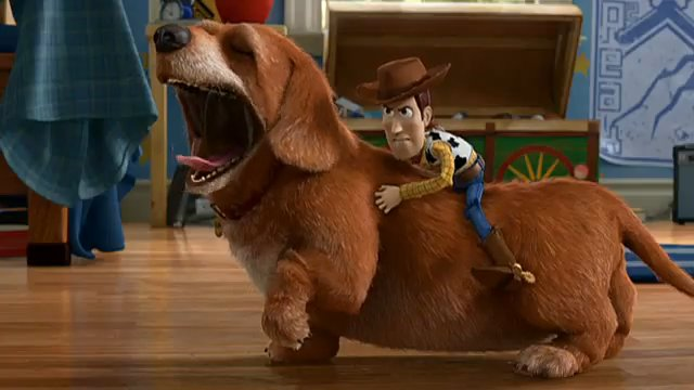 The Toy Story Movies In Dog Years. | Peter T. Chattaway