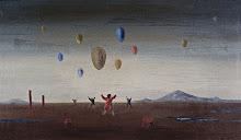Meninos soltando balão