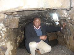 Inside a man-made cave - Bainbridge