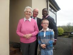 John & Elizabeth Meeke with grandson