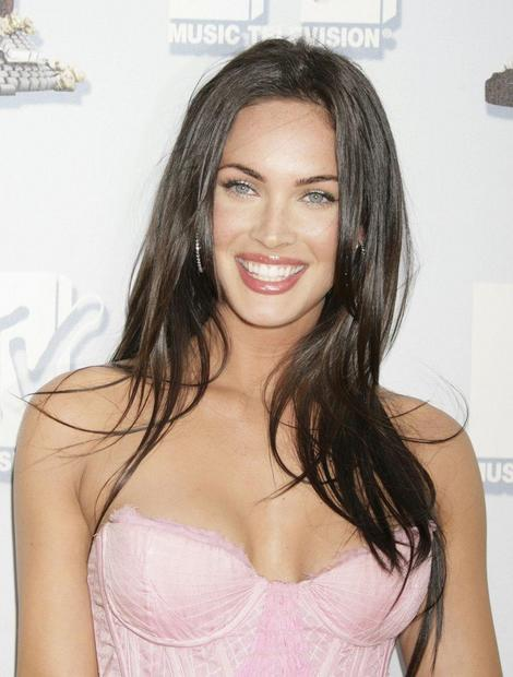 Megan Fox Casual Hair. megan fox hair. megan fox hair extensions. new
