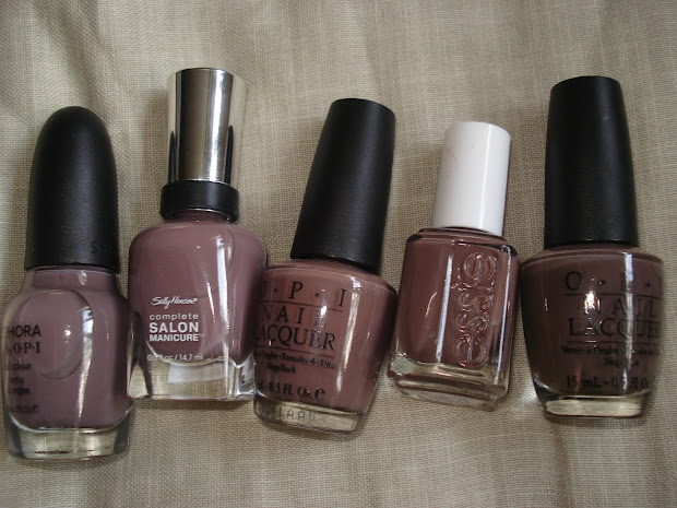 productrater taupe nail polish