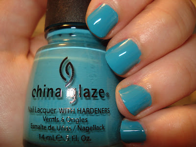 china glaze flyin high