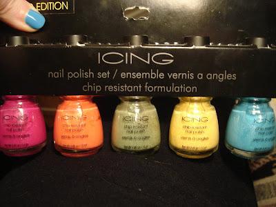 icing nail polish set