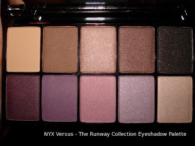 nyx versus eyeshadow palette