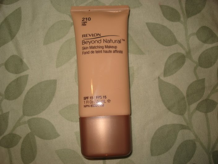Revlon's Beyond Natural Skin Matching Makeup is an awesome product.