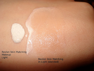 revlon skin matching foundation